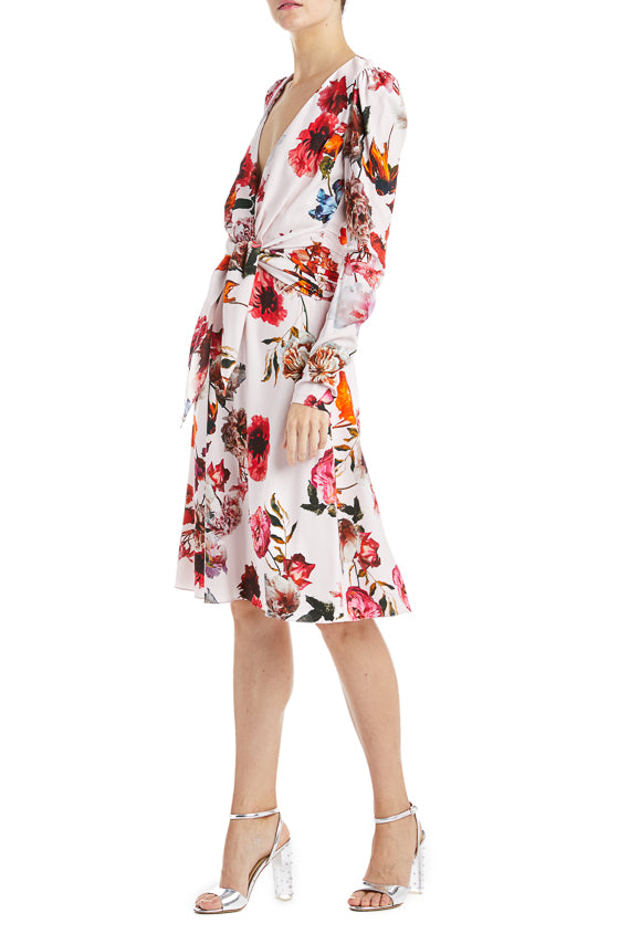 Monique Lhuillier Floral Dress