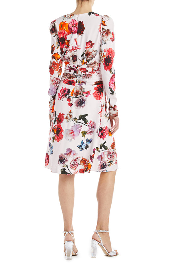 Floral cocktail dress