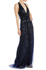 Fall 2019 Evening Gown Navy