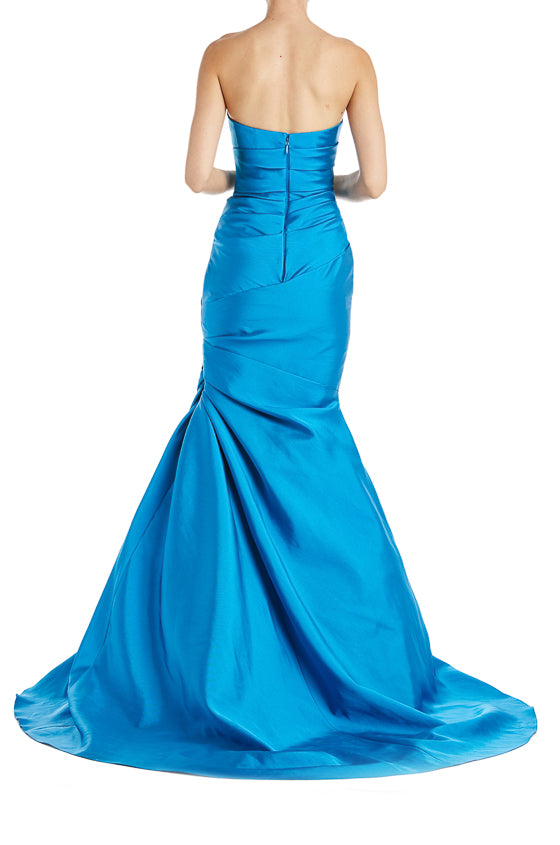 Draped Gown Mikado