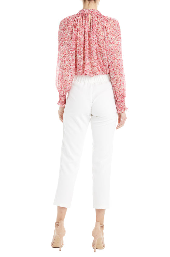 S19 ML Monique Lhuillier White Pant