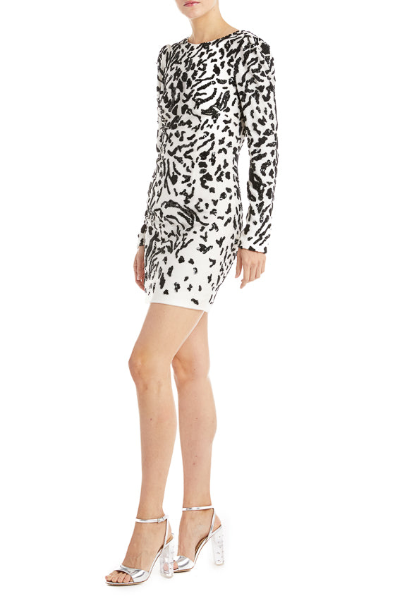 Long sleeve dress Monique Lhuillier