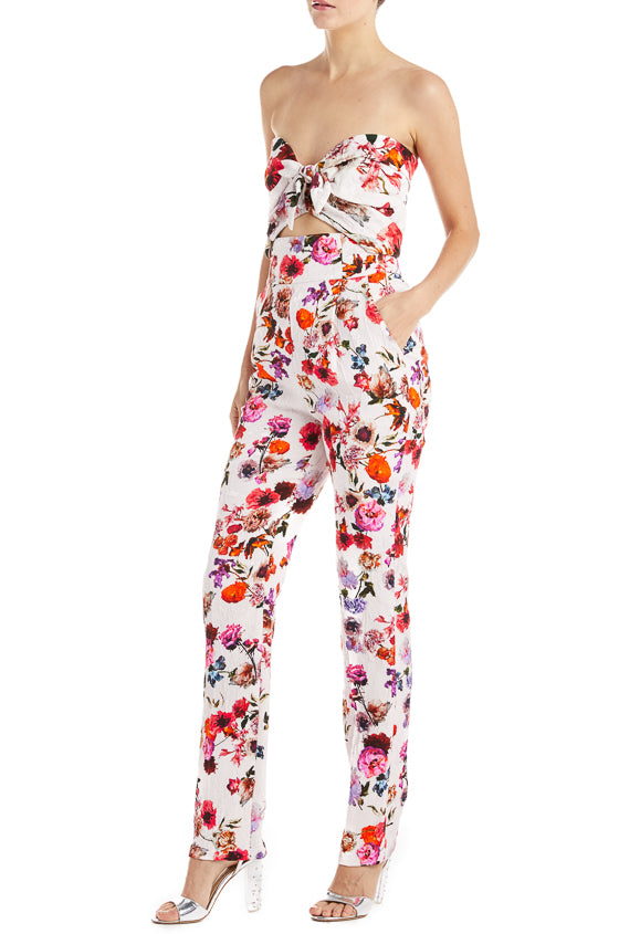 High waisted floral pant fall 2019
