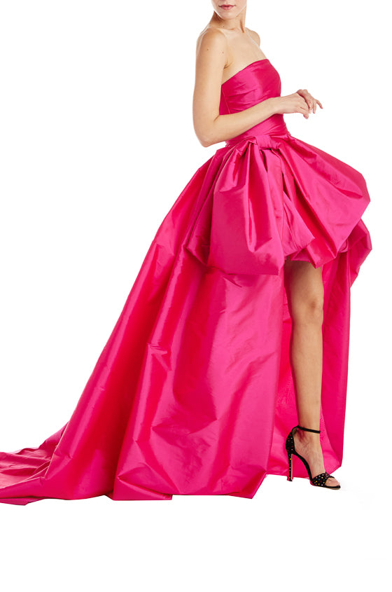 Fall 2019 Fuchsia Gown Strapless