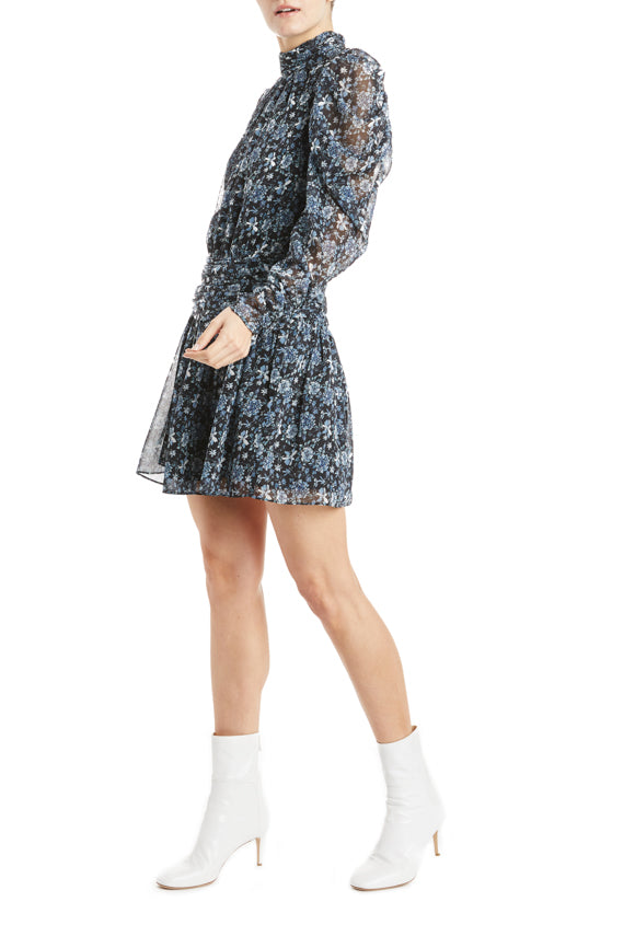 ML Monique Lhuillier Floral mini dress