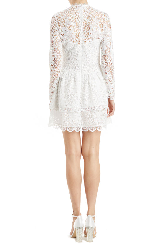 MLML long sleeve lace dress