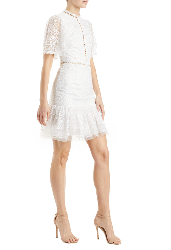 ML Monique Lhuillier lace dress