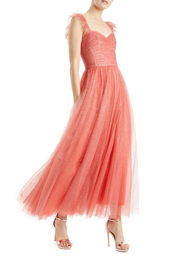 Monique Lhuillier Tulle Dress 2019
