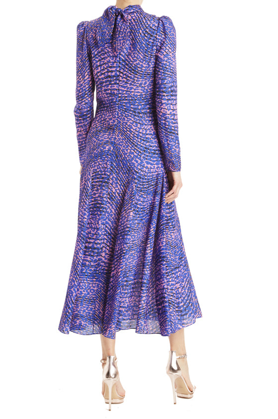 Fall 2019 Leopard Midi Dress ML