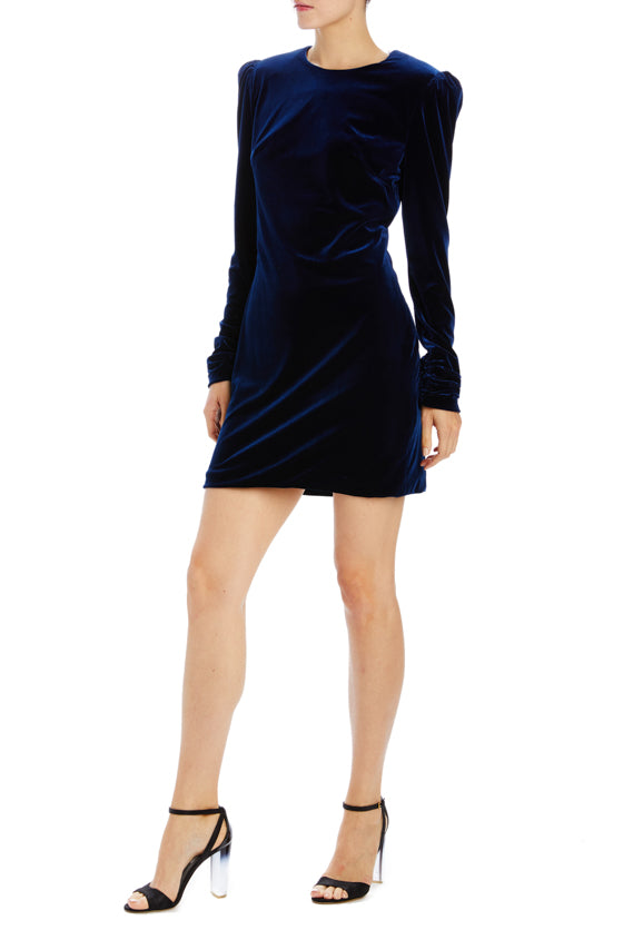 Monique Lhuillier Velvet Dress