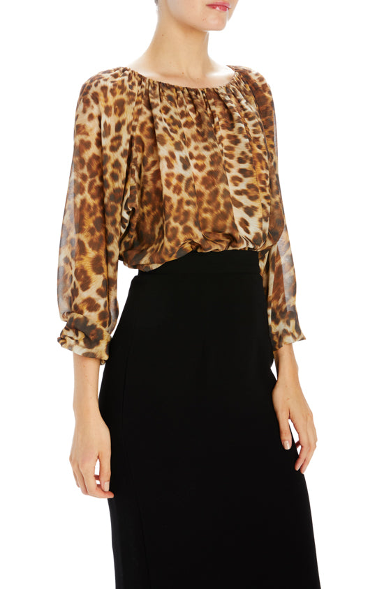 Fall 2019 Leopard Blouse
