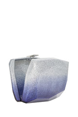 monique lhuillier glitter ombre clutch