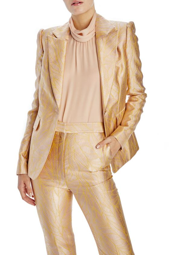 Monique Lhuillier Fitted blazer