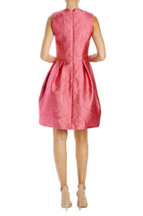 Monique Lhuillier Cocktail Dress raspberry