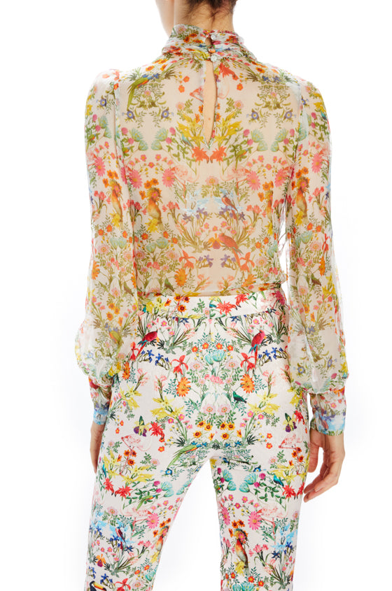 Long sleeve blouse printed Spring 2020
