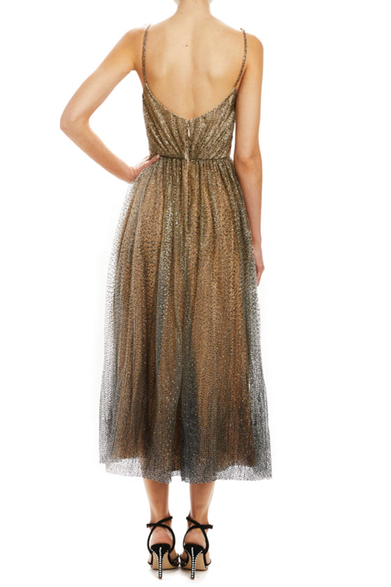 Draped Bodice Cocktail Dress