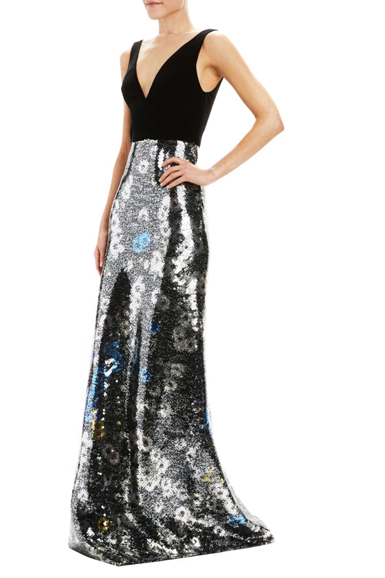 Fall 2020 Evening Gown sequins