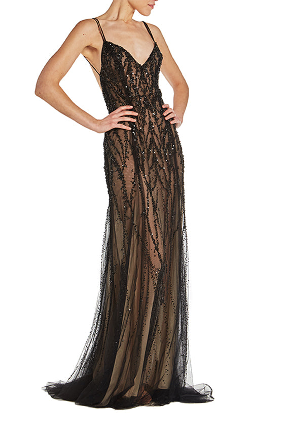 Monique Lhuiller Evening Gown
