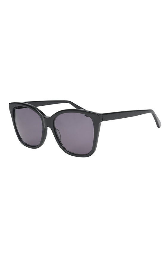 Monique Lhuillier Black Sunglasses