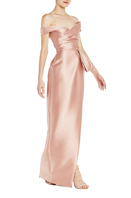 Off The Shoulder Tulip Gown - moniquelhuillier