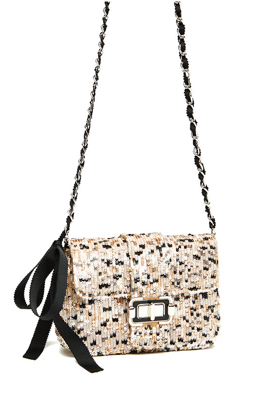 Monique Lhuillier Sequin Handbag