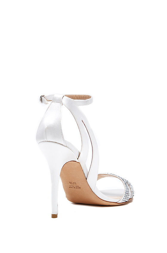 Monique Lhuillier White Bridal Shoe