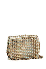 Monique Lhuillier Gold Handbag