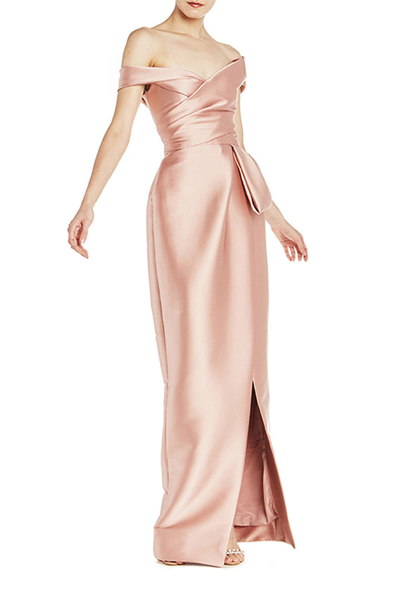 Off The Shoulder Tulip Gown