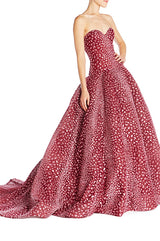 Leopard Print Ball Gown