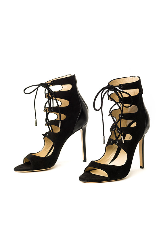 Finley Lace Up Sandal - moniquelhuillier