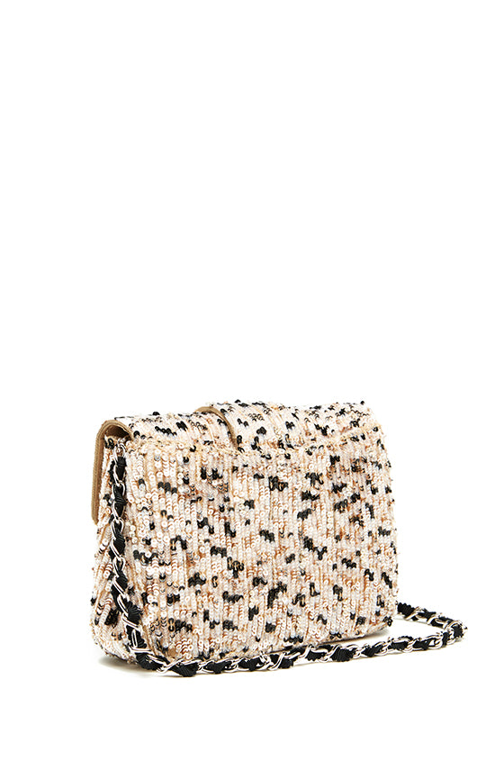 Monique Lhuillier Sequin Small Shoulder Bag