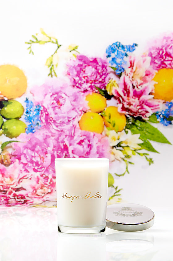 Citrus Lily Candle - moniquelhuillier