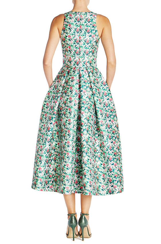 Printed Midi Dress - moniquelhuillier