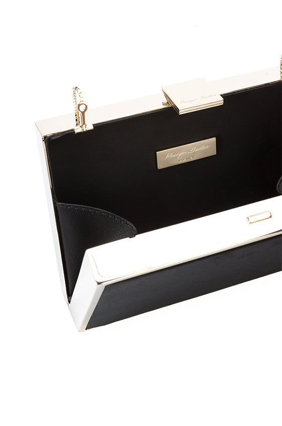 Lily Velvet Box Clutch - moniquelhuillier