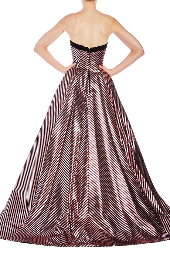 Strapless Ball Gown- FINAL SALE - moniquelhuillier
