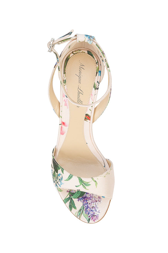 Botanical Print Monique Lhuillier Shoe