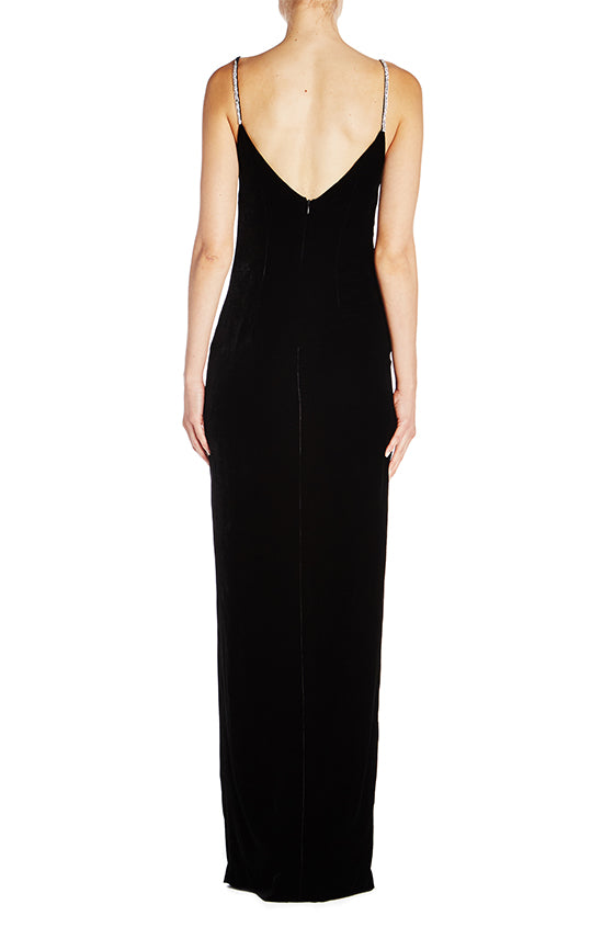 Velvet Slip Gown- FINAL SALE