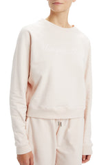 Blush Cropped Sweatshirt