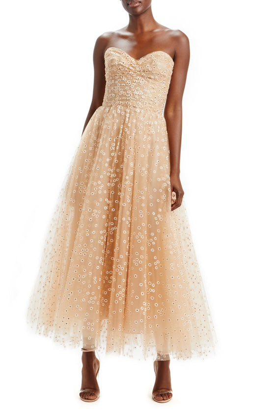 Daisy Glitter Tulle Dress