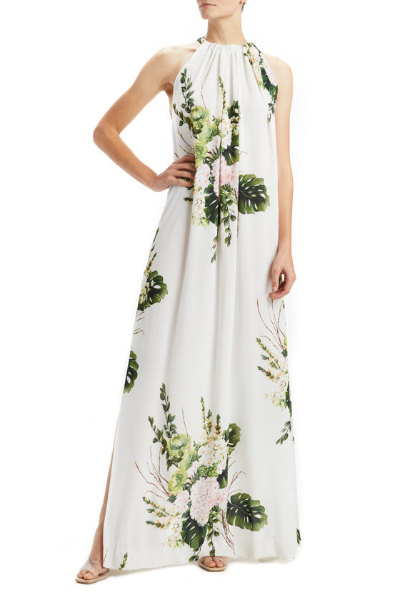Bouquet Printed Tent Dress