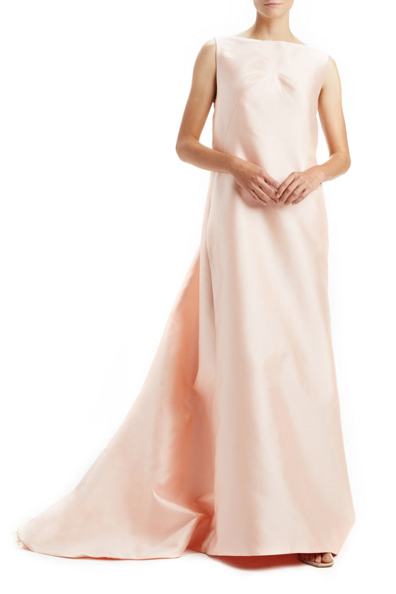 Boat Neck Gown