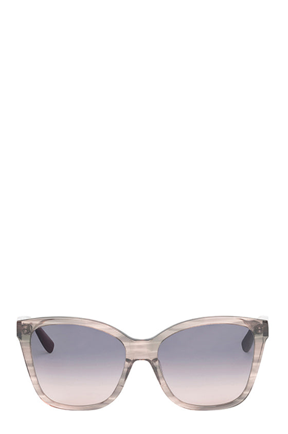 Grey square acetate sunglasses