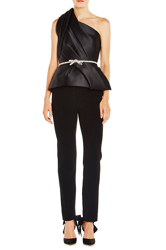 Stretch Crepe Slim Pant - moniquelhuillier