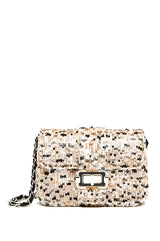 Bianca Sequin Small Shoulder Bag