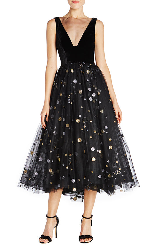 Monique Lhuillier Holiday Dress