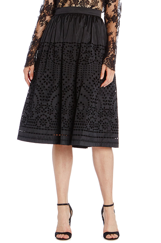 Black Monique Lhuillier Skirt