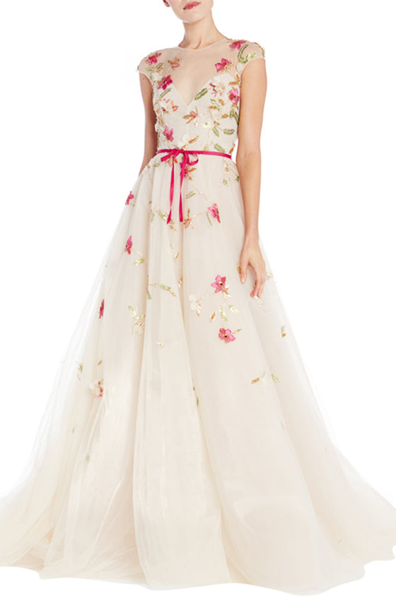 c7b73b19237a Spring 2019 RTW Ball Gown Monique Lhuillier