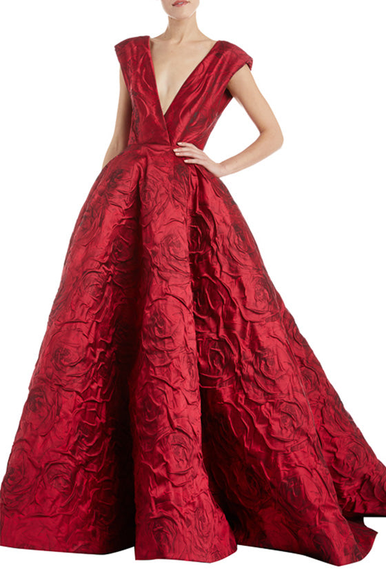 Ruby Rose Ball Gown