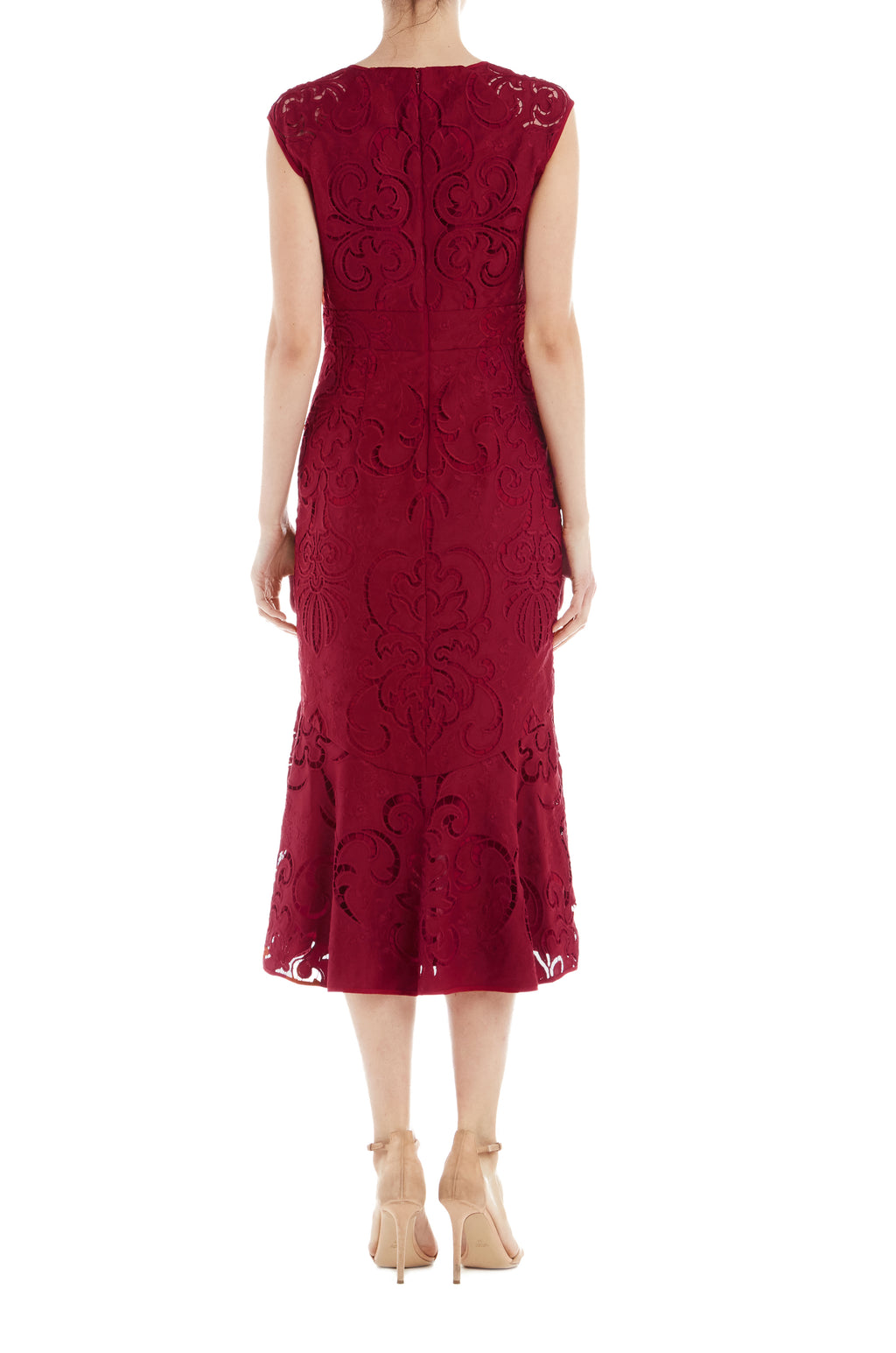 ML Monique Lhuillier Embroidered Dress- FINAL SALE