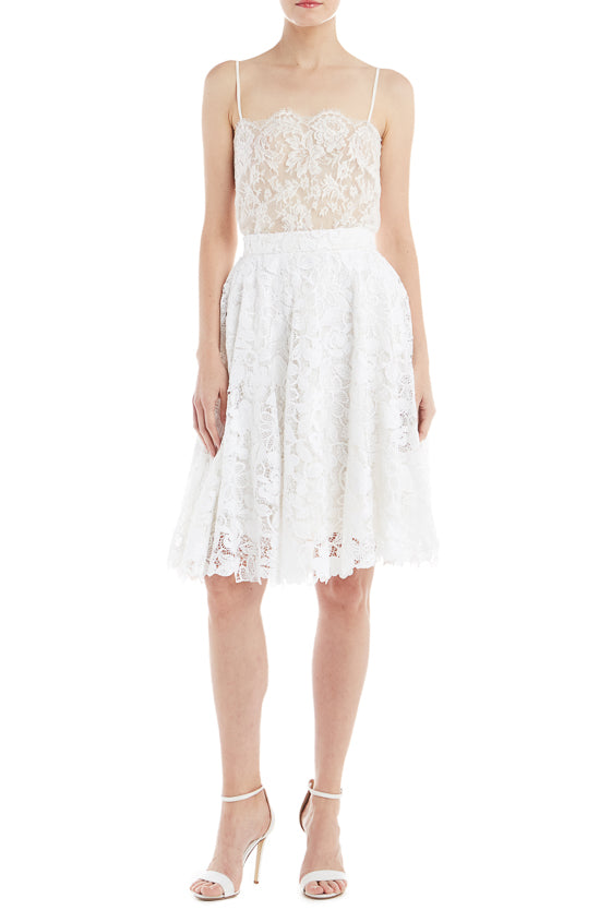 Lace Flared Skirt- FINAL SALE